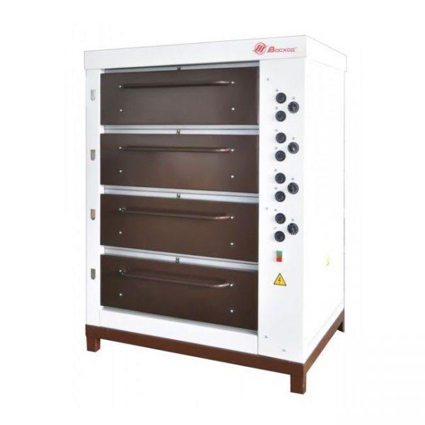 Хлебопекарная ярусная печь ХПЭ-750/4 (крашенные облицовка и дверки)