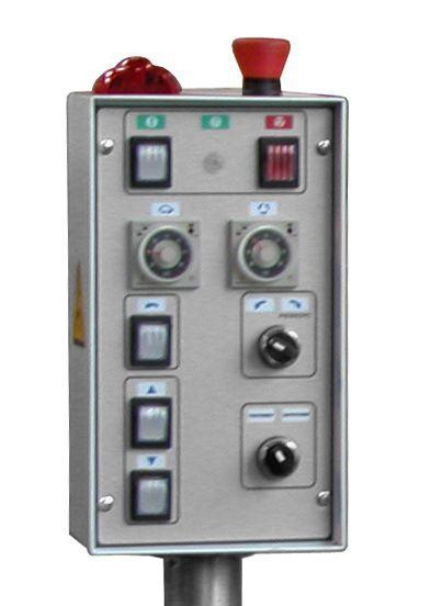 """Тестомесильная машина с гидравлическим опрокидывателем """"Прима-300P"""" пульт"""