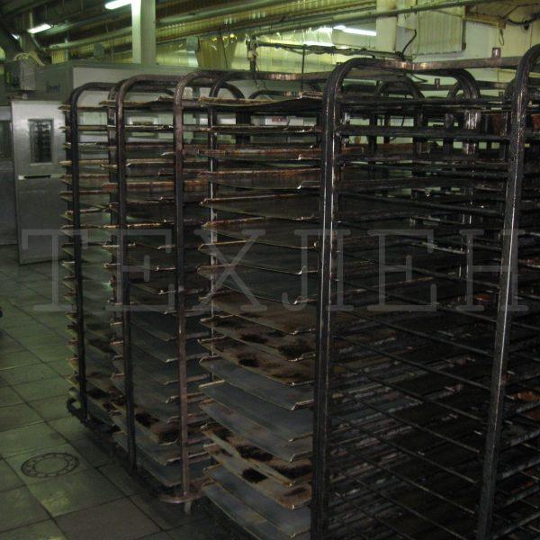 Тележки для печей REVENT производства Техлен