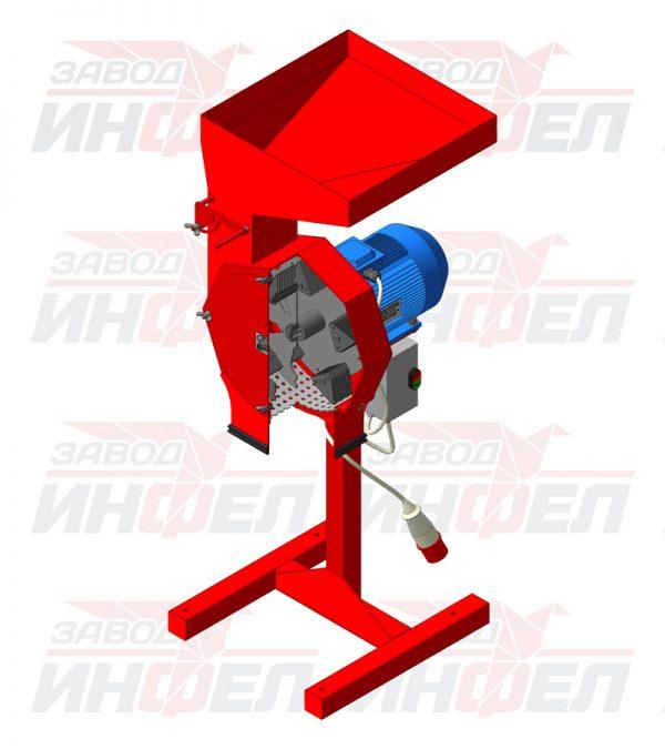 3d model izmelchitelya glater 5